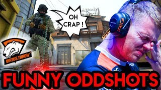 """CS:GO - """"NEO THROWS A ROUND..."""" - FUNNY ODDSHOTS #1"""