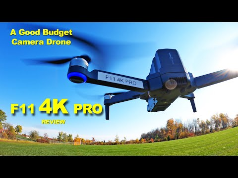 F11 4K PRO Review - This is a Very Good Budget Camera Drone