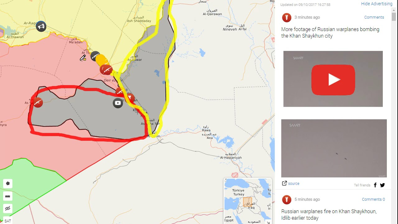 syria iraq conflict map 10917