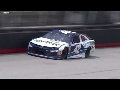Kyle Larson makes wild Bristol save, Dale Jr. goes nuts
