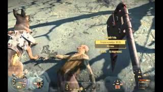 Fallout 4 - 038 - броня для собаки и немного крови