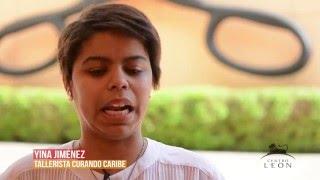 Centro León. Entrevista a Yina Jiménez.