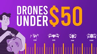 Top 5 Best drones under $50 in 2020(super cheap - for beginners)