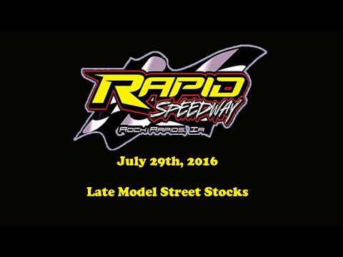 Race 10: July 29th, 2016, Featuring Late Model Street Stocks
