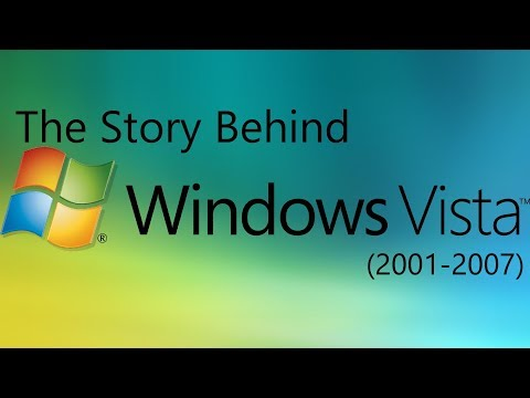 The Story Behind Windows Vista