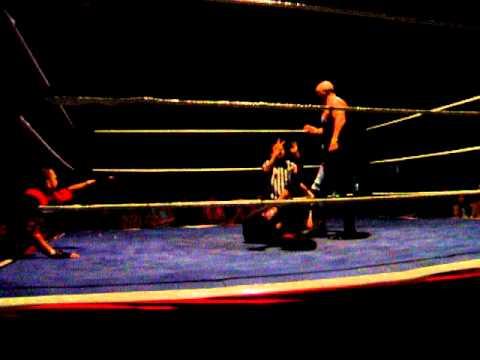 Nick vickers with mr saki vs The Steel City warrio...