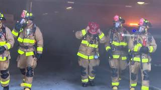San Diego: Arson in Underground Parking 03162019