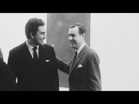 Antoni Tàpies exhibition opening, 1962