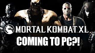 PC UPDATE SOON?! Mortal Kombat XL - August Update 2016