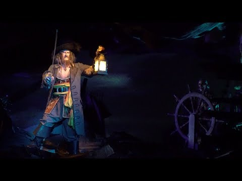 [4K - Extreme Low Light] Pirates of the Caribbean - Disneyland Paris - 2017