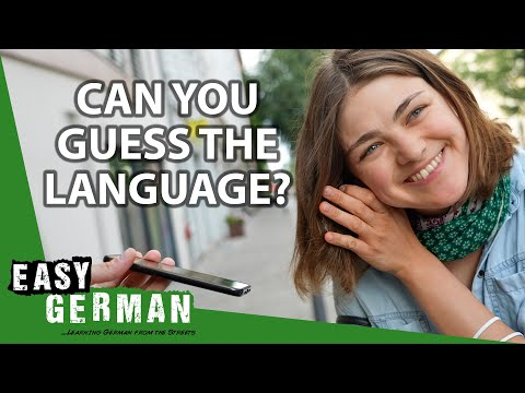 Germans Try To Guess The Language   Easy German 418