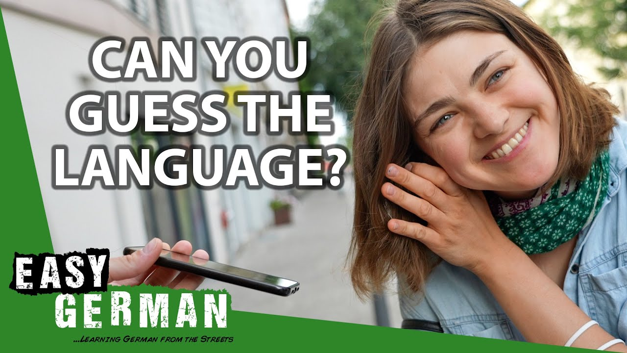 Download Germans Try To Guess The Language | Easy German 418