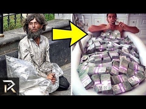 Homeless People Who WON THE LOTTERY!