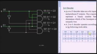 2x4 Decoder Circuit Tutorial - Basic Electronics