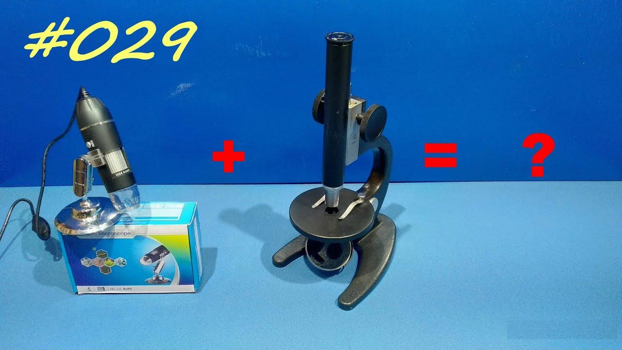 Микроскоп из китая. Digital Microscope X4 1600X.