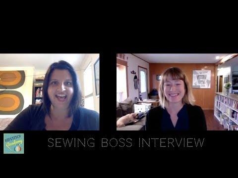 Sewing Boss Nicole Bertram @ The Spool Sewing Studio
