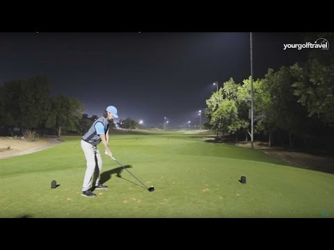 Abu Dhabi Night Golf - Your Golf Travel 3 Hole Challenge