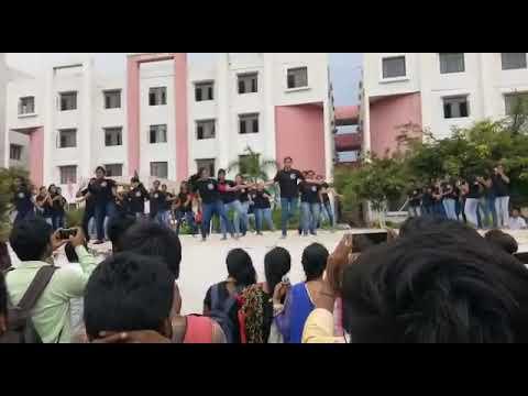 Malla Reddy College  Flash Mob@2017