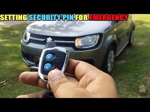 Setting Maruti Nippon Central Locking New Password ( Hindi ) || Set Emergency Password For Car