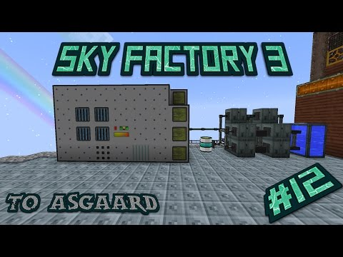 Sky Factory 3 Let's Play Ep 12: Firing Up The Generators