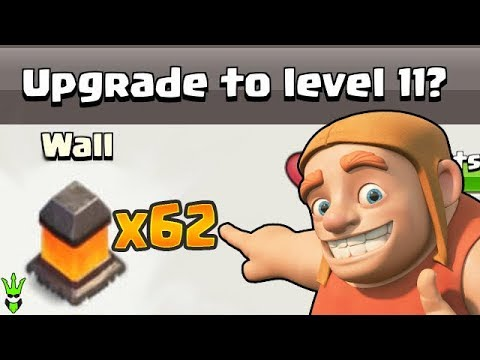 62 WALL UPGRADES IN ONE EPISODE! - Let's Play TH10 - Clash Of Clans