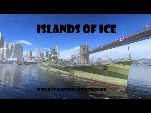 World of Warships-  Islands of Ice