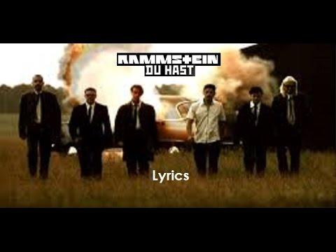 RAMMSTEIN - Du Hast Lyrics  - Live Version -