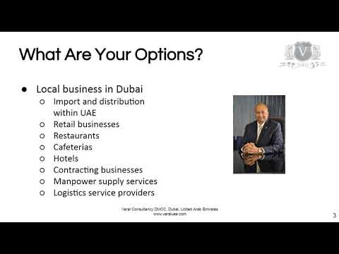 Setting Up A Business In Dubai | Options For A New Business Entity