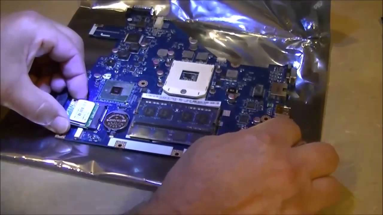 Acer Aspire 5742 Laptop Motherboard Removal And