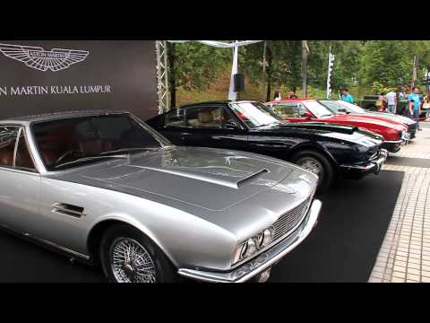 Sultan of Johor's Rare Car Collections (  M1,SL300,Lagonda LG6,DBS and more )