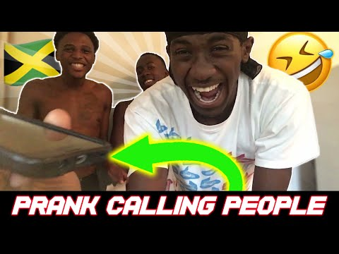 Prank Calling People From Home! * EXTERMELY FUNNY*🇯🇲
