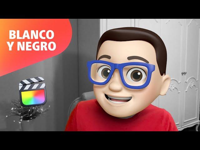 Vídeo en Blanco y Negro en Final Cut Pro 🤍🖤