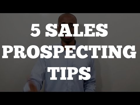 Sales Training: How to Sell Services [5 Sales Prospecting Tips]