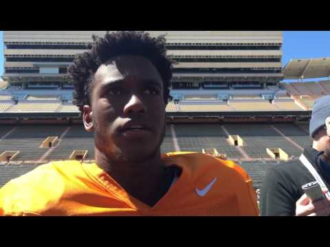 Marquill Osborne's first interview at Tennessee