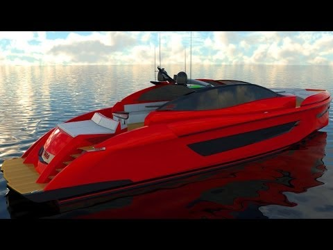 Lazzara 67' Open Series Yacht 2014