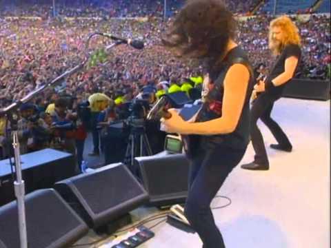 Metallica - Sad But True (Live Freddie Mercury Tribute Concert 1992) HD