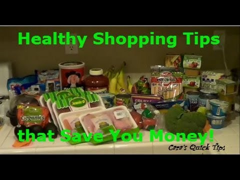 Grocery Shopping Experiment | Healthy Eating Tips While Meal Planning, Price-Matching & Couponing