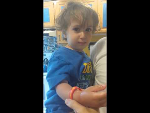Levi reviews the #mediband bracelet!