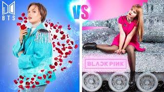 Download lagu BTS Fan vs BLACKPINK Fan! Prank Wars!