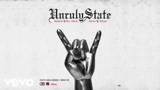 Quada, Popcaan, Dre Island, Jafrass - Unruly State Official Audio (Quada)