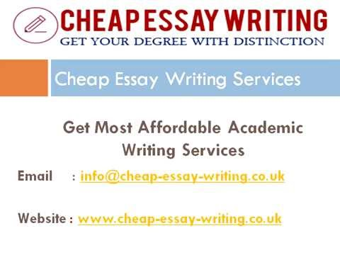 Get Most Cheap Essay Writing Services UK from Best Writers