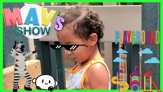 CAMBIER PARK PLAYGROUND NAPLES REVIEW WITH MAVERICK   KIDS PLAYING