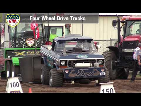 Four Wheel Drive Trucks Pulling At Anoka, MN - July 26th, 2018