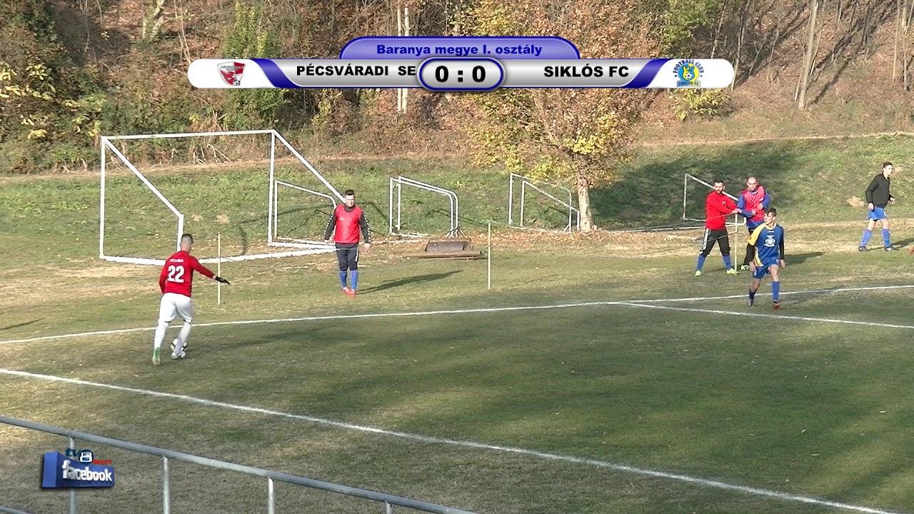 PÉCSVÁRADI SPARTACUS SE -THERMAL SPA SIKLÓS FC 0 - 1 (0 - 0)