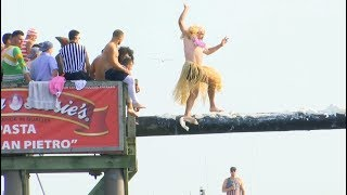The Greasy Pole Competition is Pure Insanity