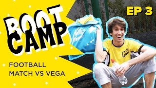 Na`Vi Bootcamp EP 3. Football. Match vs Vega [RU/EN]