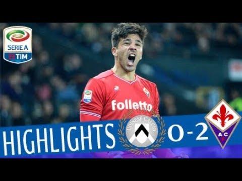 Udinese - Fiorentina 0-2 - Highlights - Giornata 27 - Serie A TIM 2017/18