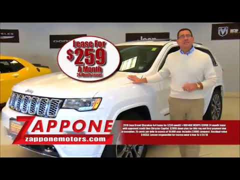 Start Something New Event | 2018 Jeep Grand Cherokee only $259/mo | Zappone CJDR |12065 & 12832