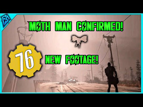 Moth Man Confirmed in Fallout 76! - New Footage! thumbnail