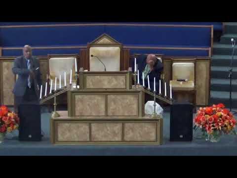 """11/12/2017: Reverend John David Long: """"Laying Up Treasure In Heaven"""" (F):"""